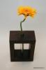 Dekoratīva koka vāze (1 ziedam)